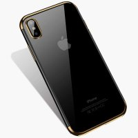 Чехол Silicone Case CAFELE iPhone XS Max Gold