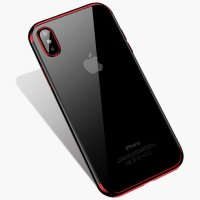 Чехол Silicone Case CAFELE iPhone XS Max Red