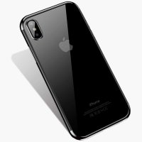 Чехол Silicone Case CAFELE iPhone XS Max Silver