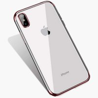 Чехол Silicone Case CAFELE iPhone XS Max Rose Gold
