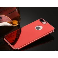 Чехол пластиковый Matte - Mirror case for iPhone 8/8 Plus Red