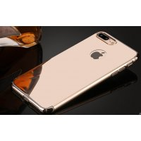 Чехол пластиковый Matte - Mirror case for iPhone 7/8 Rose Gold