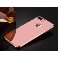 Чехол пластиковый Matte - Mirror case for iPhone 7/8 Plus Pink