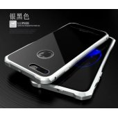 Бампер-чехол aluminium Black with Silver Matte для iPhone 7/8