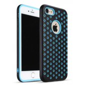 Чехол Silicone with Black/Blue Nike for iPhone 7/8