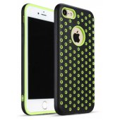 Чехол Silicone with Black/Green Nike for iPhone 7/8
