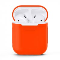 Чехол для AirPods silicone case Red