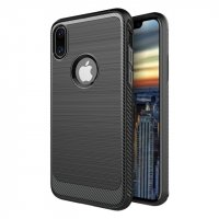 Чехол silicone Black case iPhone X