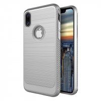 Чехол silicone White case iPhone X