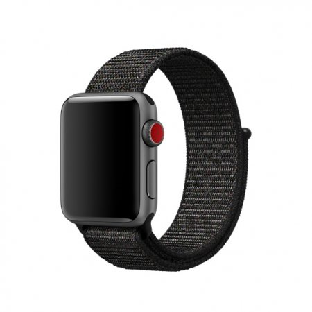 Фото - Apple Watch 38/42mm Black Sport Loop (magnetic)