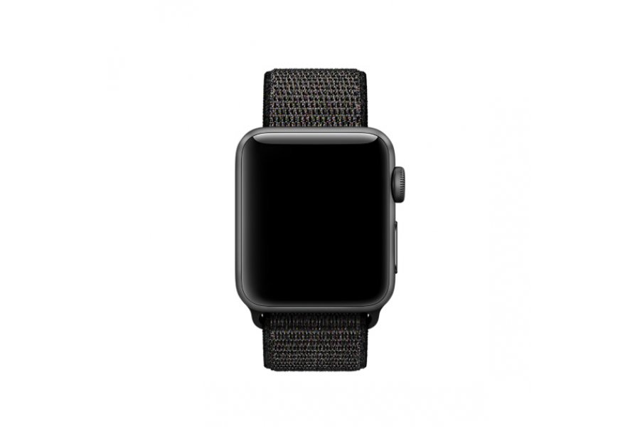 Ремешок для Apple Watch 38/40/42/44mm Black Sport Loop (magnetic)