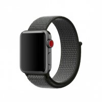 Ремешок Apple Watch 38/40/42/44mm Dark Olive Sport Loop (magnetic)
