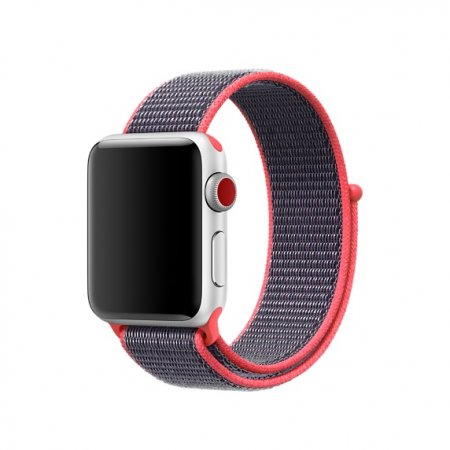 Фото - Apple Watch 38/42mm Electric Pink Sport Loop (magnetic)