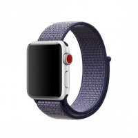 Ремешок для Apple Watch 38/40/42/44mm Midnight Blue Sport Loop (magnetic)