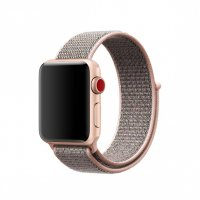 Ремешок для Apple Watch 38/40/42/44mm Pink Sand Sport Loop (magnetic)