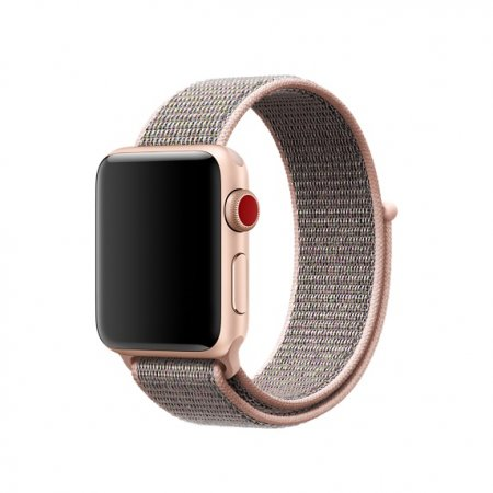 Фото - Apple Watch 38/42mm Pink Sand Sport Loop (magnetic)