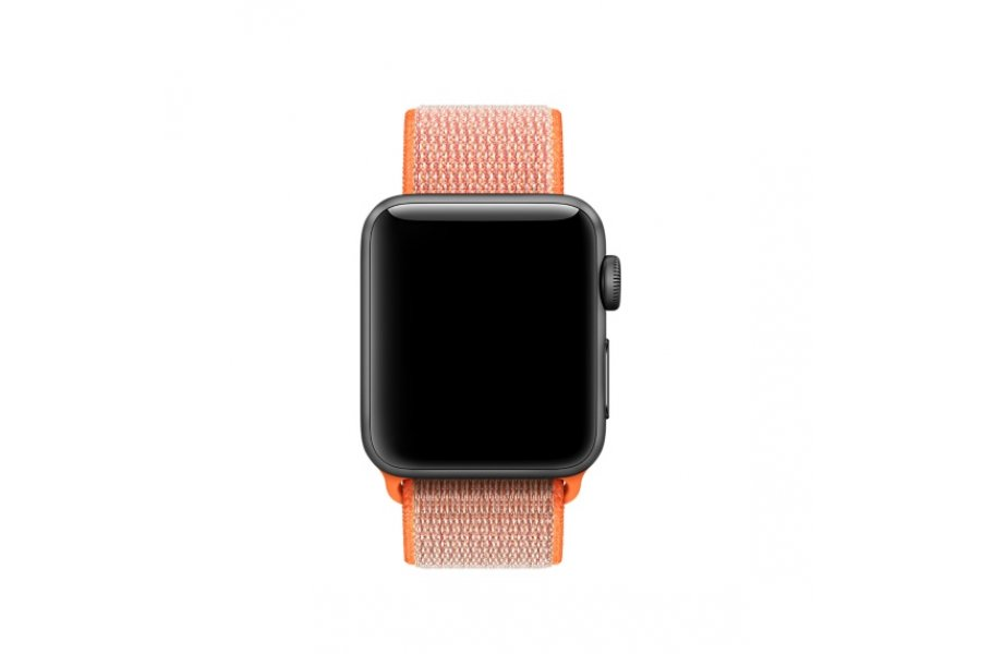 Ремешок для Apple Watch 38/40/42/44mm Spicy Orange Sport Loop (magnetic)