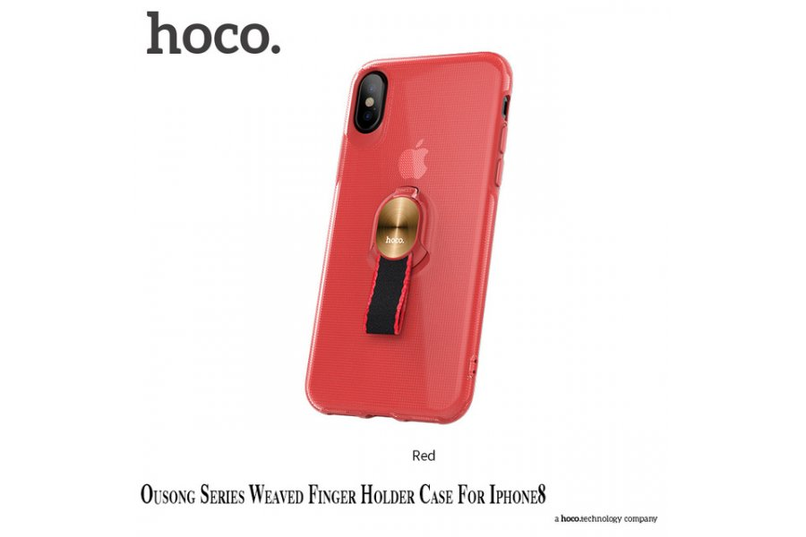 Чехол HOCO red for iPhone X/Xs