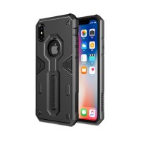Чехол Nillkin Defender 4 Series Armor-border iPhone X/Xs Black