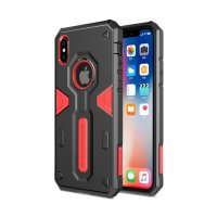 Чехол Nillkin Defender 4 Series Armor-border iPhone X Red