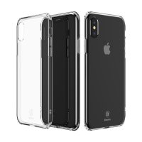 Чехол Silicone Case BASEUS iPhone X / iPhone 10 Clear
