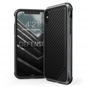 X-Doria Defense Lux iPhone X/Xs - Carbon Black