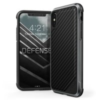 X-Doria Defense Lux iPhone X - Carbon Black