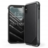 X-Doria Defense Lux iPhone X/Xs - Leather Black