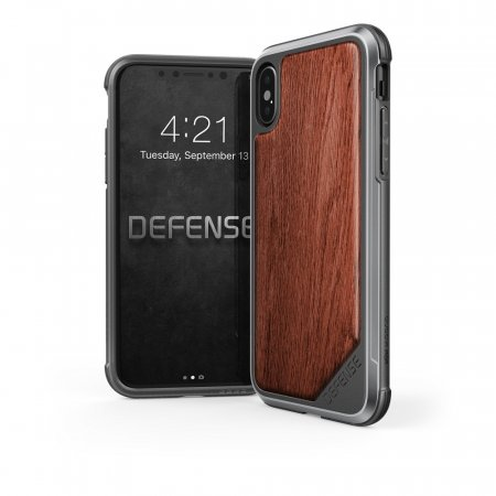 Фото - X-Doria Defense Lux iPhone X - Wood