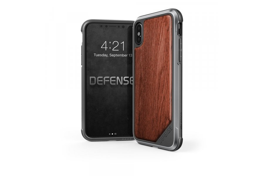 X-Doria Defense Lux iPhone X/Xs - Wood