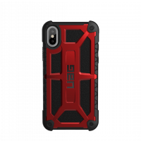 Чехол UAG для iPhone X Monarch Crimson