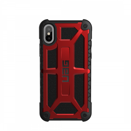 Фото -  Чехол UAG для iPhone X Monarch Crimson