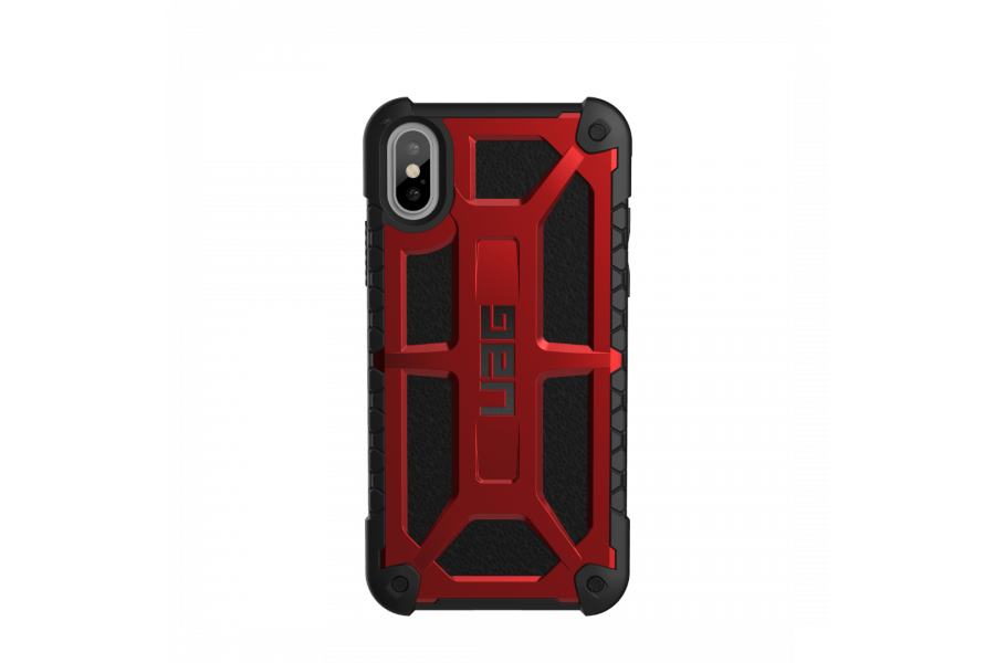Чехол UAG Monarch Crimson для iPhone X/Xs