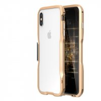 Бампер Luphie Ultra Luxury Gold for iPhone X/Xs