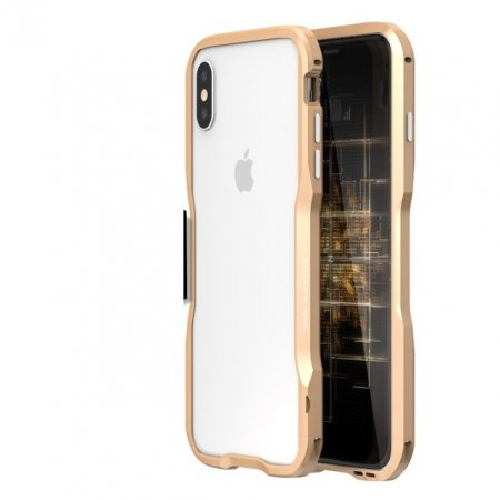 Фото - Бампер Luphie Ultra Luxury Gold for iPhone X