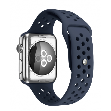 Фото - Ремешок Silicone with Flat Black Nike for Apple Watch 38/42mm