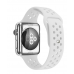 Ремешок Silicone with Flat White for Apple Watch 38/42mm
