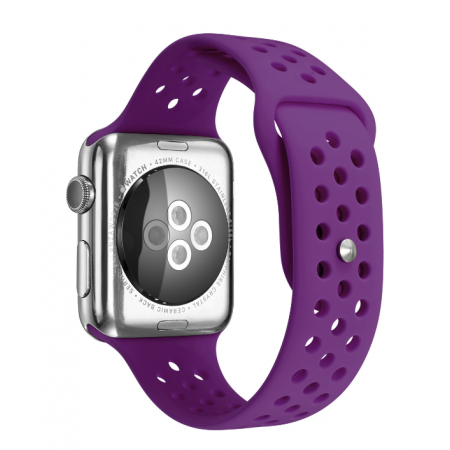 Фото - Ремешок Silicone with Flat Purple for Apple Watch 38/42mm