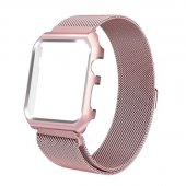 Чехол-браслет Apple Watch 38/42mm with Milanese Loop (magnetic) Rose Gold