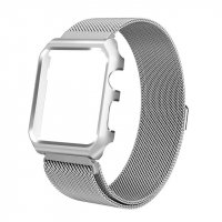 Чехол-браслет Apple Watch 38/42mm with Milanese Loop (magnetic) Silver