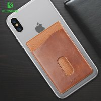 Накладка Card Holder Floveme Black для iPhone