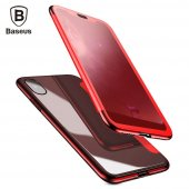 Чехол Baseus Touchable Flip Cover Case For iPhone X/Xs Red