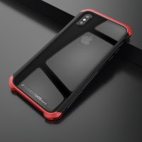 Чехол Element Case Template Glass For iPhone X/Xs Black-Red