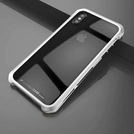 Фото - Чехол Element Case Template Glass For iPhone X/10 Silver