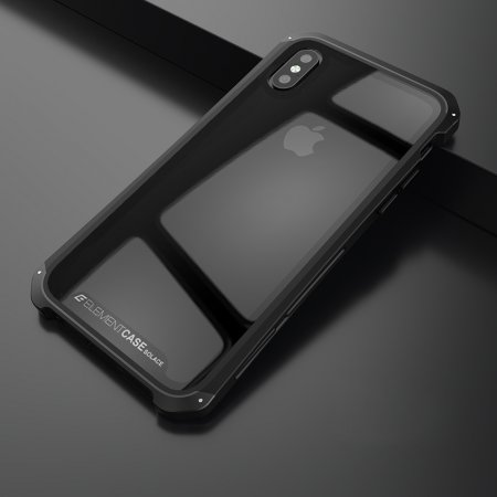 Фото - Чехол Element Case Template Glass For iPhone X/10 Black