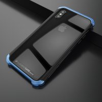 Чехол Element Case Template Glass For iPhone X/Xs Black-Blue