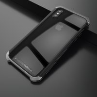 Чехол Element Case Template Glass For iPhone X/Xs Black-Grey