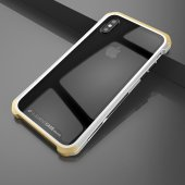 Чехол Element Case Template Glass For iPhone X/Xs Silver-Gold