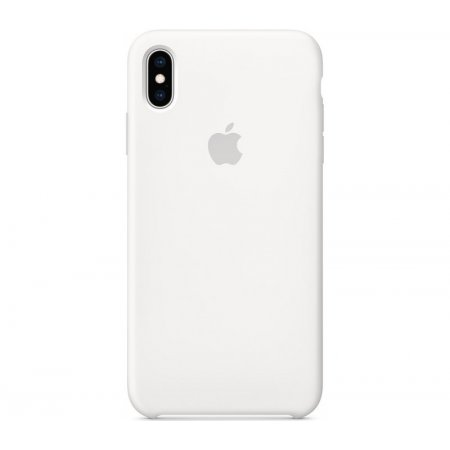 Фото - Чехол Apple Silicone Case for iPhone Xs Max - White