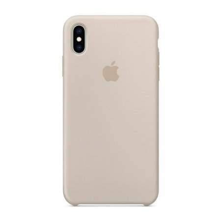 Фото - Чехол Apple Silicone Case for iPhone Xs Max - Stone